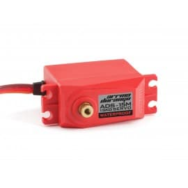 ADS-15M V2 15KG WATERPROOF SERVO RED