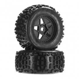 Arrma 1/8 dBoots Backflip Monster Truck 6S Front/Rear 2.8 Pre-Mounted Tires, 17mm Hex (2)