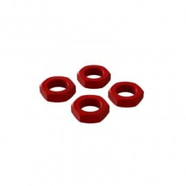 Arrma 17MM Wheel Nut Red