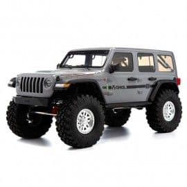 Axial SCX10 III Jeep JLU Wrangler with portals 1/10 4x4 Rock Crawler RTR (Gray)