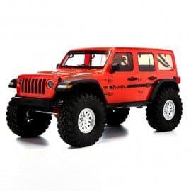 Axial SCX10 III Jeep JLU Wrangler with portals 1/10 4x4 Rock Crawler RTR (Orange)