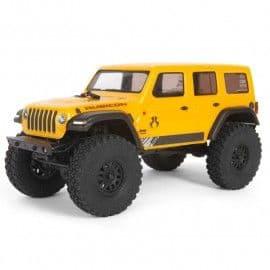 Axial SCX24 2019 Jeep Wrangler JLU CRC 1/24 4x4 Mini Crawler RTR (Yellow)