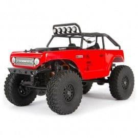 Axial SCX24 Deadbolt 1/24th 4x4 Mini Crawler RTR (Red)
