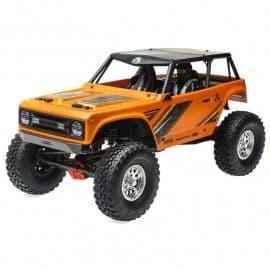 Axial Wraith 1.9 1/10 4x4 Rock Crawler RTR (Orange)