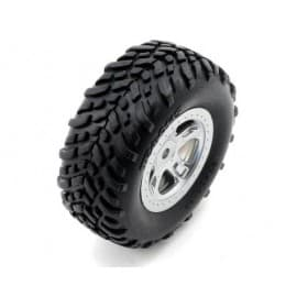 Traxxas SlaSh 1/16 Mounted Tires and Wheels