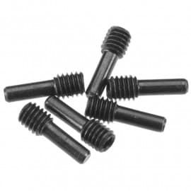 screw shaft M4x2.5x12mm 6 piece