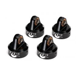 Traxxas Shock Caps Aluminum Black Fox