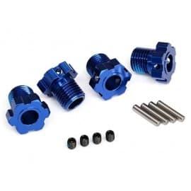 Traxxas 17mm Wheel Hubs Blue