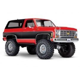 Traxxas TRX-4 1/10 Trail Crawler Truck w/'79 Chevrolet K5 Blazer Red