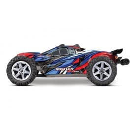 Traxxas Rustler 4X4 VXL 1/10 Brushless Stadium Truck RTR Blue/Red