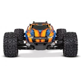 Traxxas Rustler 4X4 VXL 1/10 Brushless Stadium Truck RTR Orange/Blue