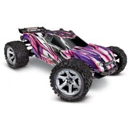 Traxxas Rustler 4X4 VXL 1/10 Brushless Stadium Truck RTR Pink