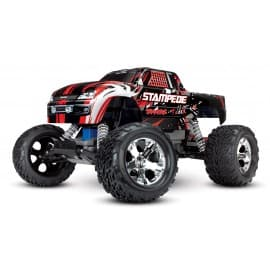 Traxxas Stampede 2WD Monster Truck No Battery/Charger Red