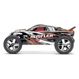 Traxxas Rustler 2WD Stadium Truck (No Battery) Orange
