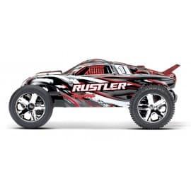 Traxxas Rustler 2WD Stadium Truck (No Battery) Red