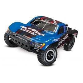 Traxxas Slash VXL 1/10 2WD W/TSM Short Course Truck (No Battery) Blue