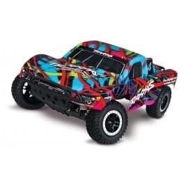 Traxxas Slash VXL 1/10 2WD W/TSM Short Course Truck (No Battery) Hawaiin