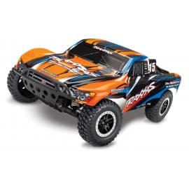 Traxxas Slash VXL 1/10 2WD W/TSM Short Course Truck (No Battery) Orange