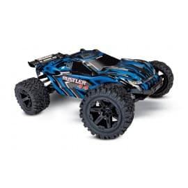 Traxxas Rustler 4X4 1/10 RTR Stadium Truck Blue