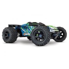 Traxxas E-Revo VXL 2.0 4X4 6S RTR Monster Truck Green