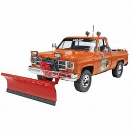 Revell GMC Piuckup With Snow Plow 1/24th scale