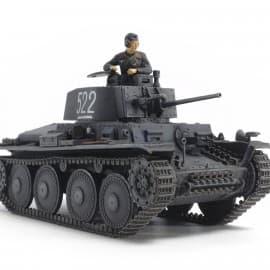 Tamiya German Panzer 38(T) Ausf.E/F