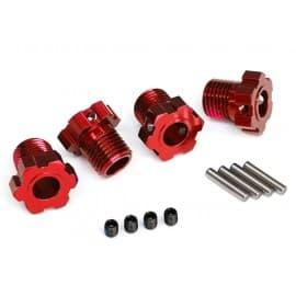 Traxxas Wheel Hub 17mm Red