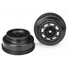 Traxxas Unlimited Desert Racer Wheels Black