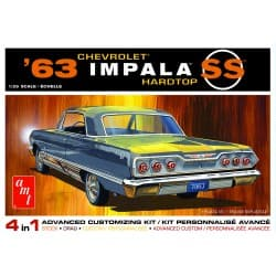 AMT 1/25 scale 1963 Chevy Impala SS Model Kit