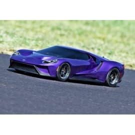 Traxxas 4-Tec 2.0 1/10 Ford GT Body (Purple)