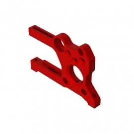 Arrma Aluminum Motor Mount, Red