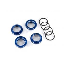 Traxxas Spring Retainer Maxx Aluminum Blue