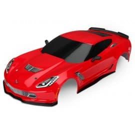 Traxxas Corvette Body 4-Tec 2.0 Red