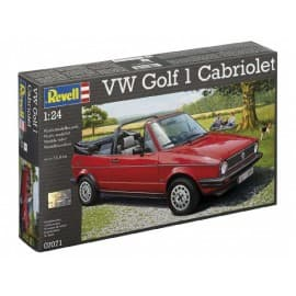Revell 1/24th scale VW Golf 1 Cabriolet