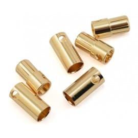 Pro Tek 6.5 Bullet Connector 3 Male/3 Female