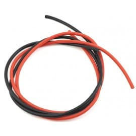 Pro Tek 16awg Red Black Silicone Wire