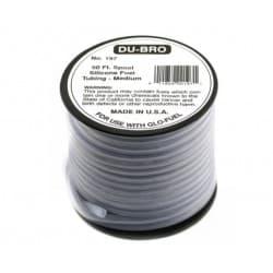 DuBro Silicone Fuel Tubing Medium
