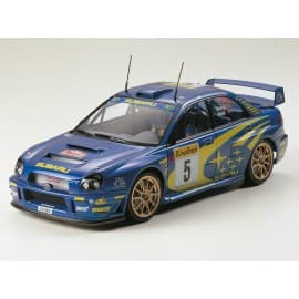 Tamiya 1/24 Subaru Impreza WRC 2001