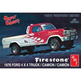 AMT 1/25 1978 Ford Pick-Up. Firestone Super Stores
