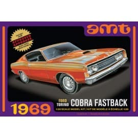 AMT 1/25 1969 Ford Torino Cobra Fastback