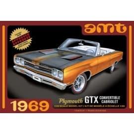 AMT 1/25 1969 Plymouth GTX Convertible
