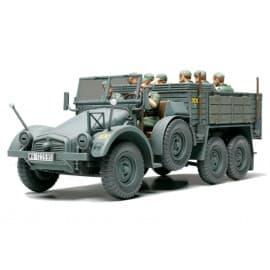 Tamiya 1/48 German 6x4 Truck Krupp Protze